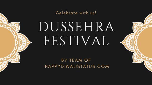 Dussehra 2020 Status
