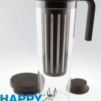 Image displaying Happy Donkey coffee brewing jug.