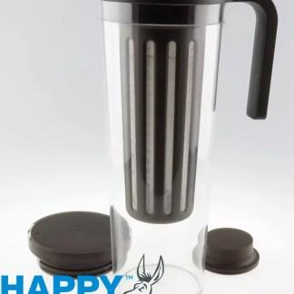 Image displaying Happy Donkey coffee brewing jug.