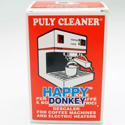 Image displaying Puly Cleaner domestic coffee machine descaler.