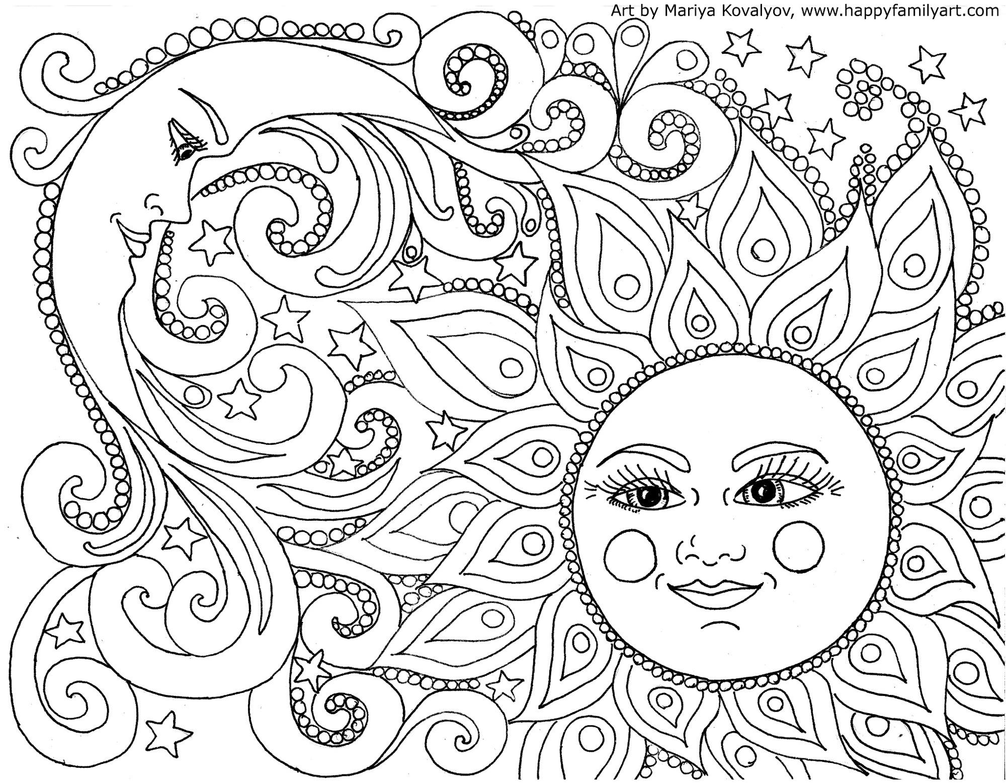 sunandmoonmedium happy family art
