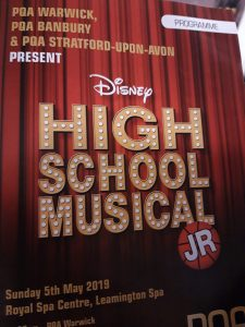 PQA Warwick High School Musical Jr Theatre Programme