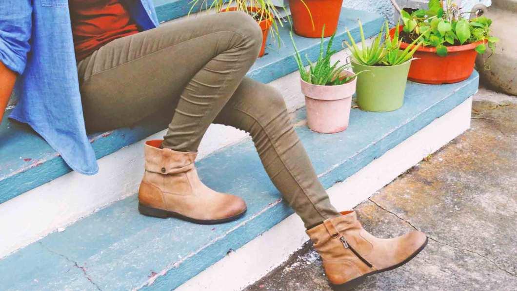 birkenstock sarnia taupe boot