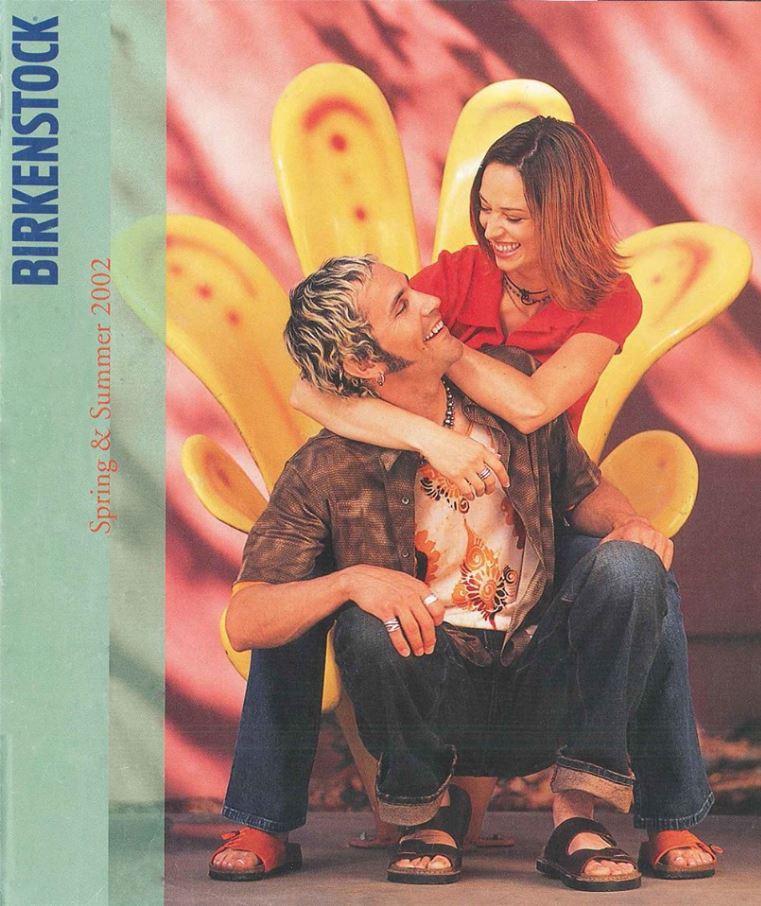 birkenstock footwear vintage 1990's advertisement