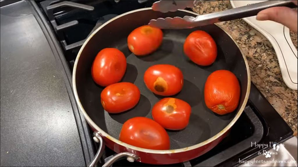roast tomatoes for meatloaf