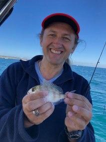 2018 nov 18th fishing portarlington happy fisherman