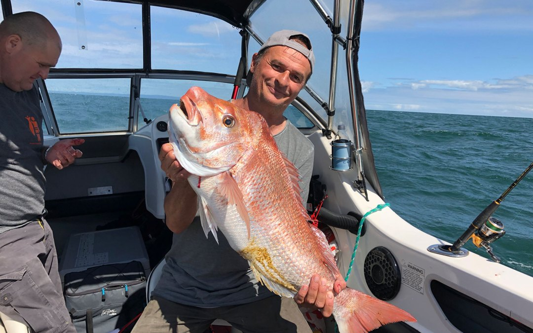 A quick video of the 9th of March big Snapper