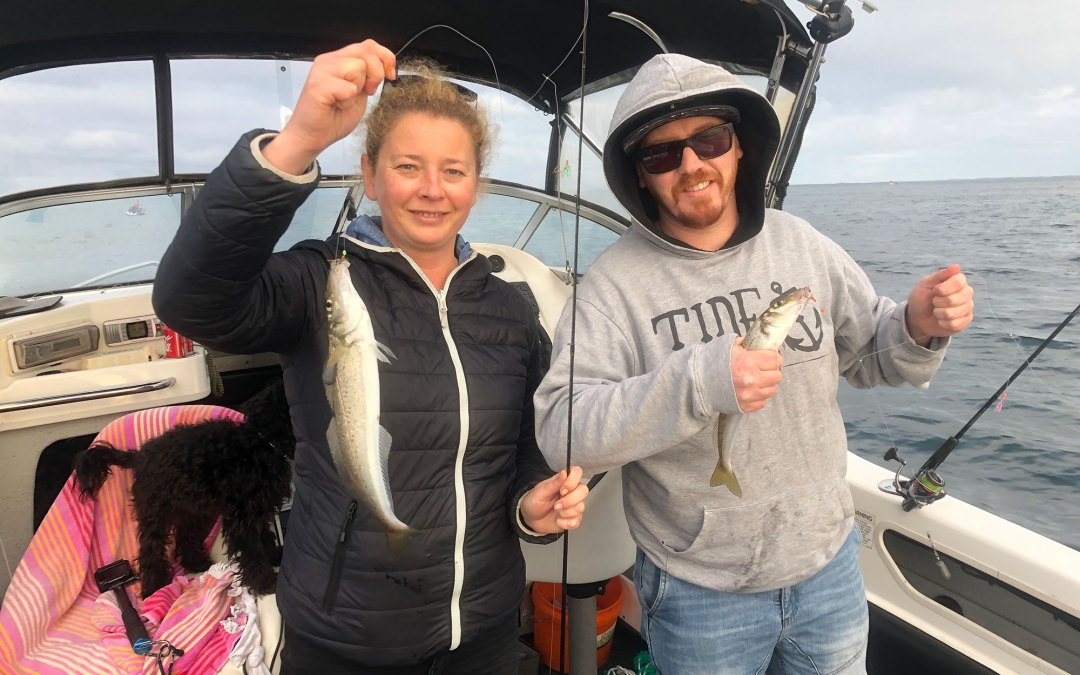 2020 May 22 Fishing St Leonards with Tyrone from BCF