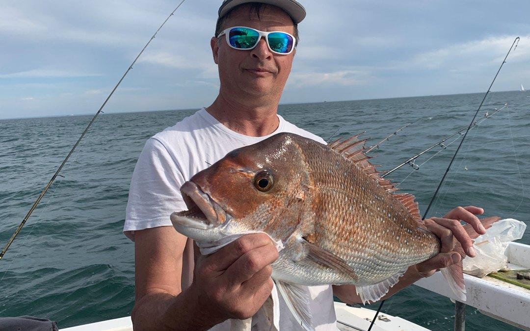 2020 Nov 3rd Fishing Port Phillip Bay