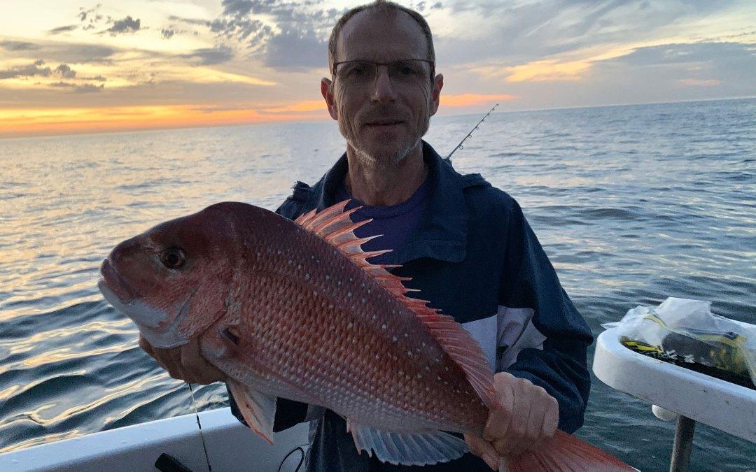 2020 Nov 21st – Fishing Port Phillip Bay