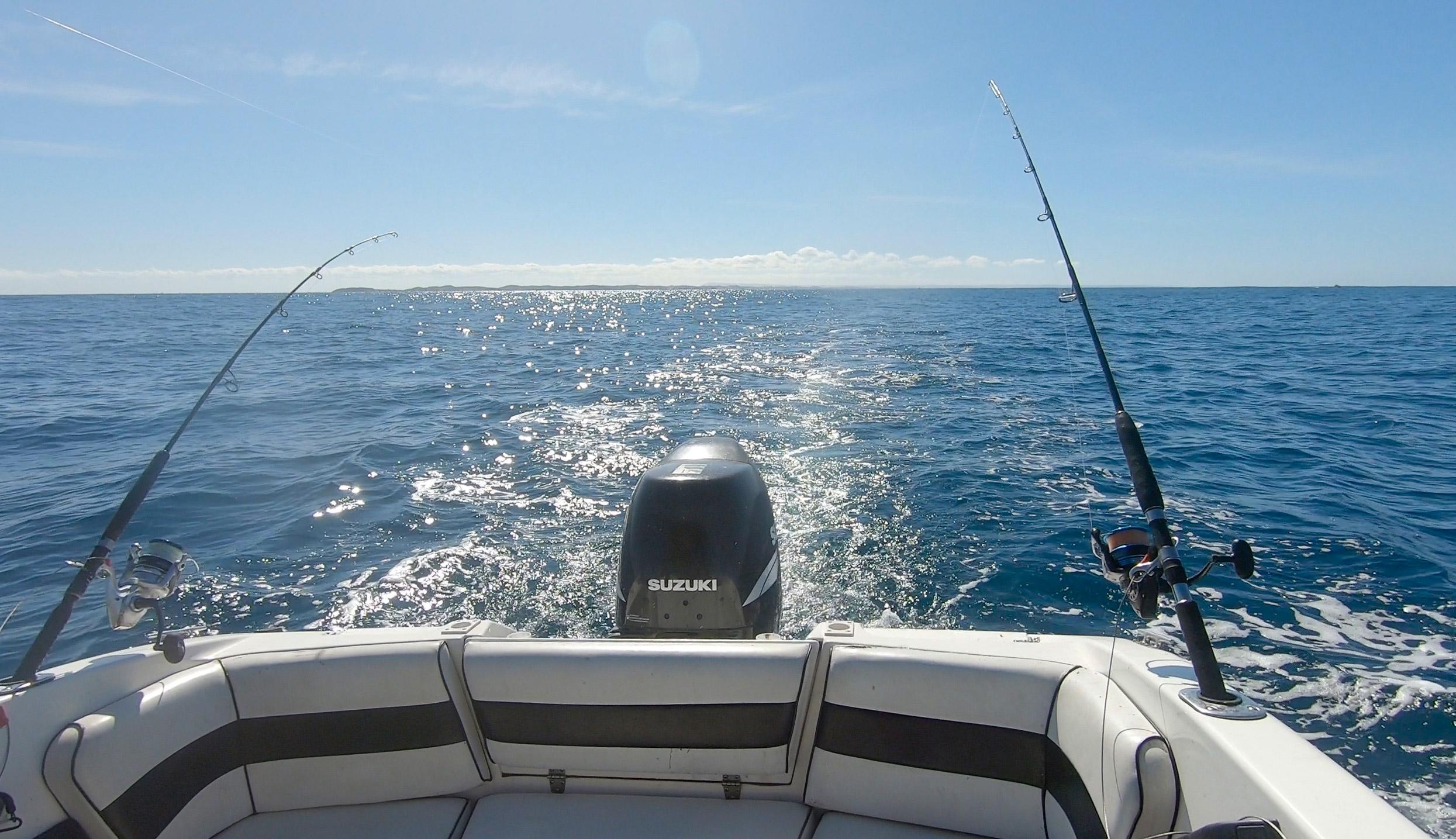 happy fisherman fishing barwon heads