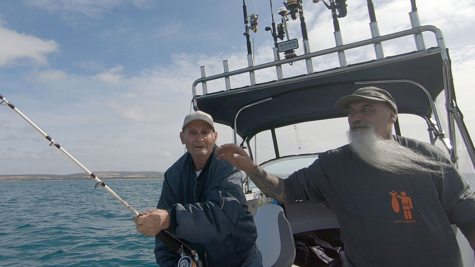 happy isherman fishing portland
