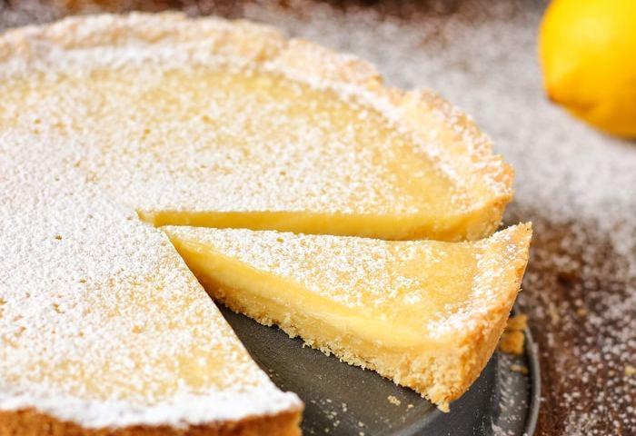 Simple Homemade Lemon Tart Recipe Happy Foods Tube