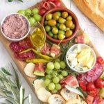 Simple Mediterranean Antipasti Platter Happy Foods Tube