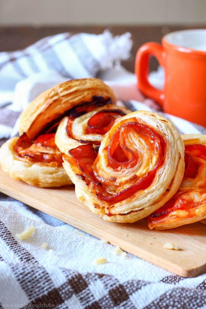Bacon Pinwheels with Cheddar Pic