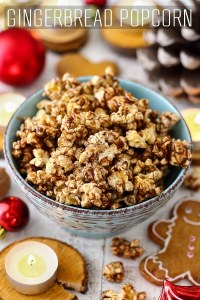 Homemade Gingerbread Popcorn Recipe