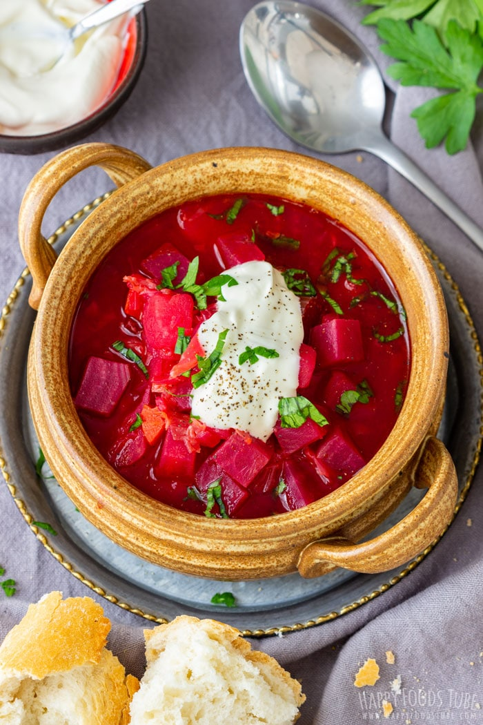 Homemade Instant Pot Borscht