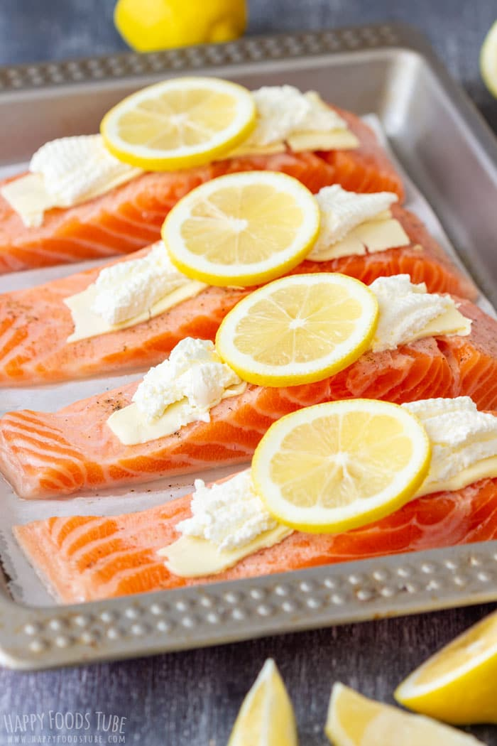 How to Make Oven Baked Salmon Fillets Step 3