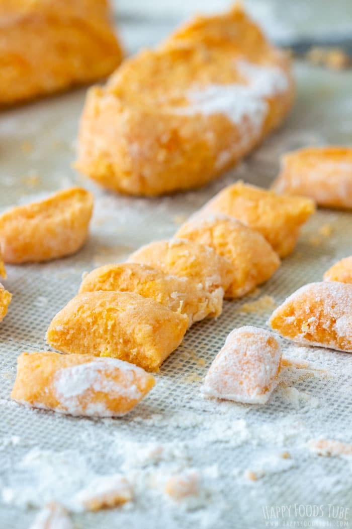 How to make Sweet Potato Gnocchi Step 3