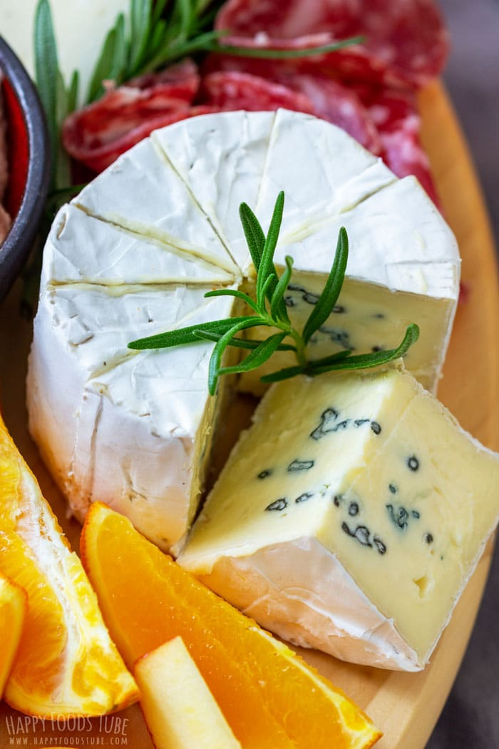 Blue Cheese on the Cheese Board