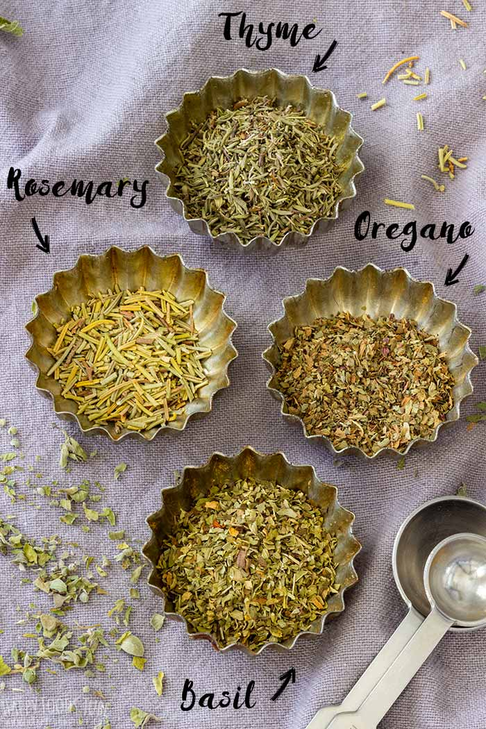 Homemade Italian Seasoning Ingredients