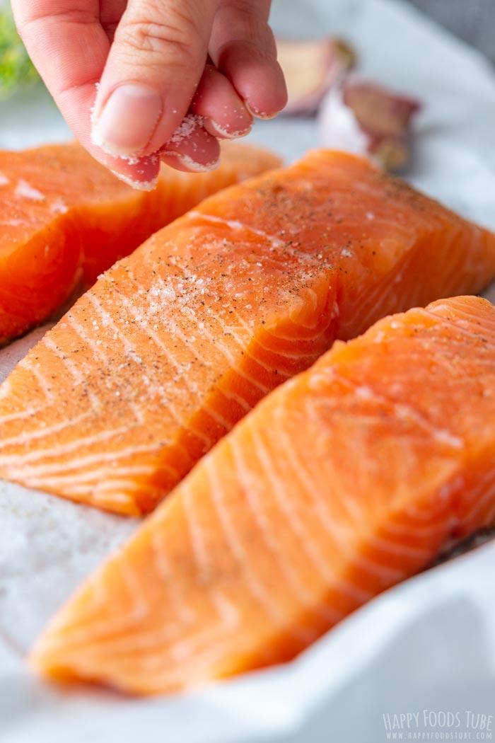 How to make Orange Glazed Salmon Step 1
