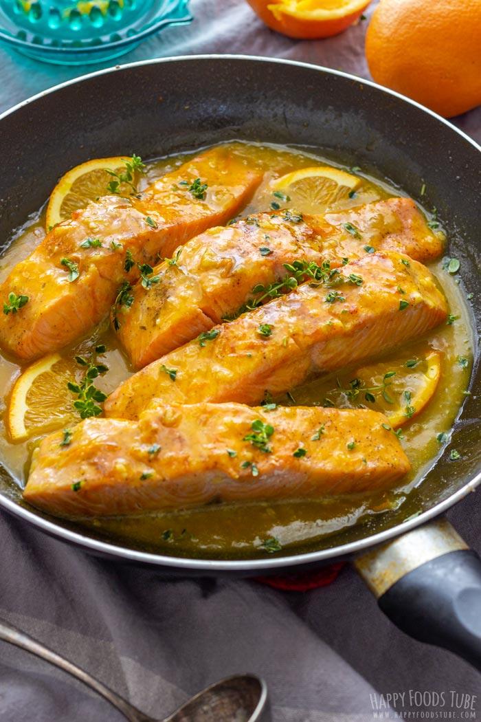 Orange Glazed Salmon