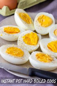 Easy Instant Pot Hard Boiled Eggs Recipe