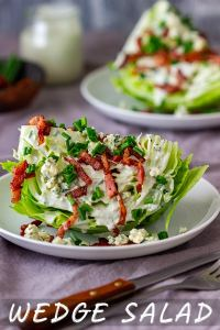 Easy Wedge Salad Recipe