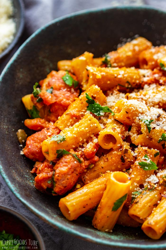 Homemade One Pot Sausage Pasta Bowl