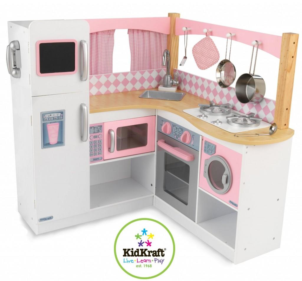 Kidkraft White Petal Kitchen 3 Years