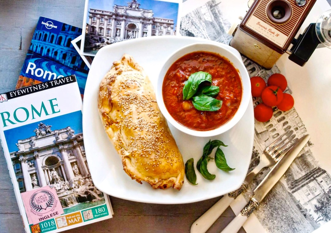 Eating Healthy While Traveling, Rome, Tomato Basil