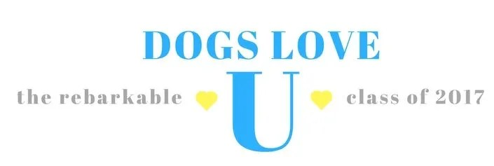 Dogs Love U Class of 2017 Rebarkable Dogs logo