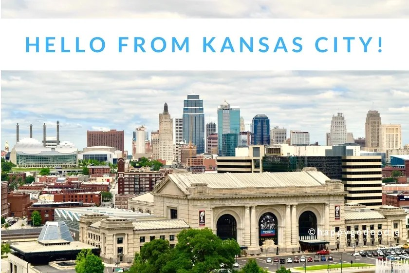 kansas city skyline and title hello from kansas city and copyright happy-go-doodle