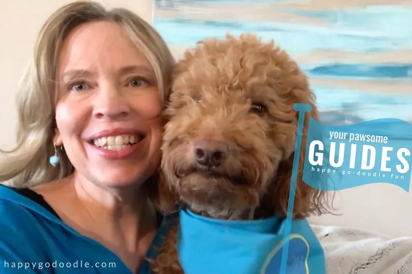 Dog mom and Happy-Go-Doodle Chloe are your guides helping your on your BlogPaws conference adventures