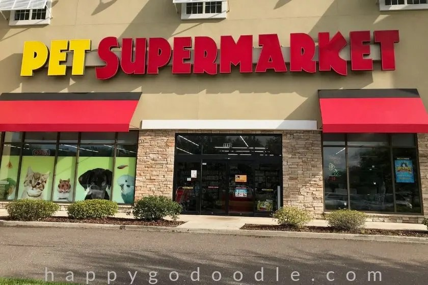 photo of pet supermarket in amelia island