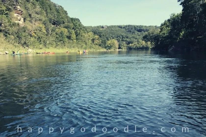 photo of river in arkansas