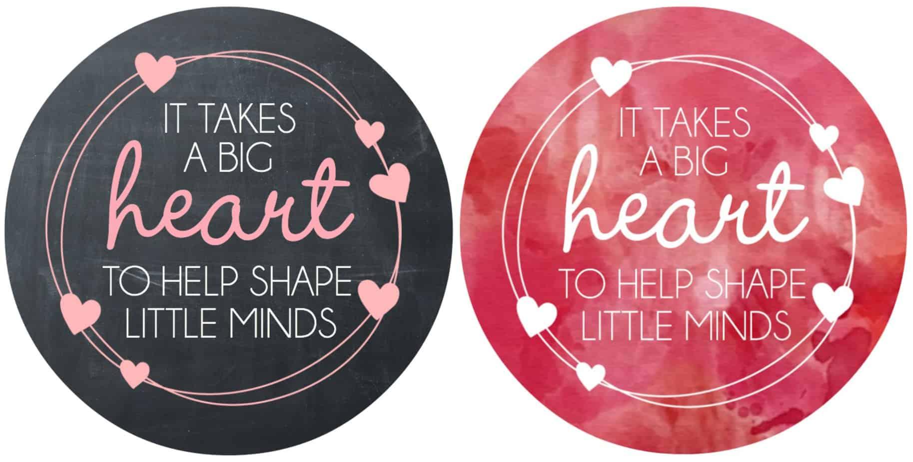 Valentine S Day Teacher T Free Printable
