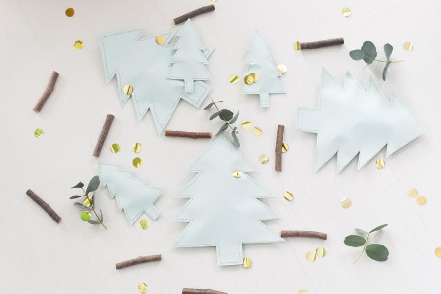 DIY kerstboompjes naaien