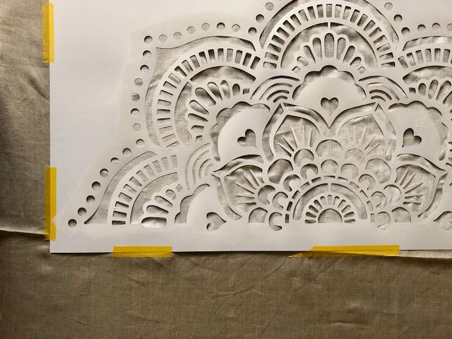 Sjablonen Voor Op De Muur.Mandala Stencils Happy Handmade Living