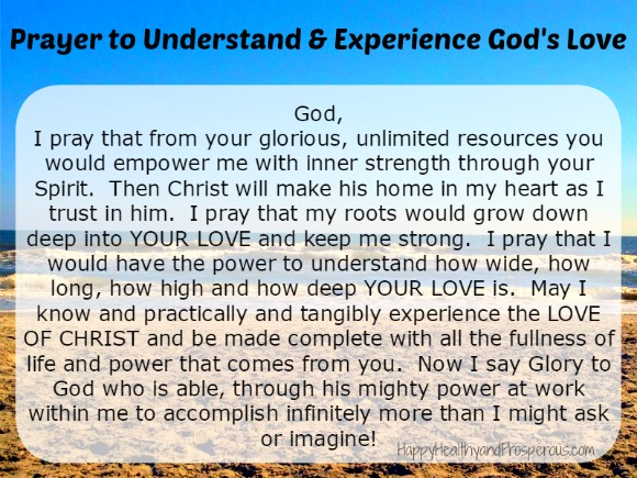 To overcome feeling unloved or unwanted, say this prayer