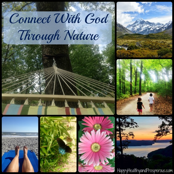 Nature reveals so much about God. There's a lot to learn when we connect with God through nature. Here are some things to learn and some ways of connecting.