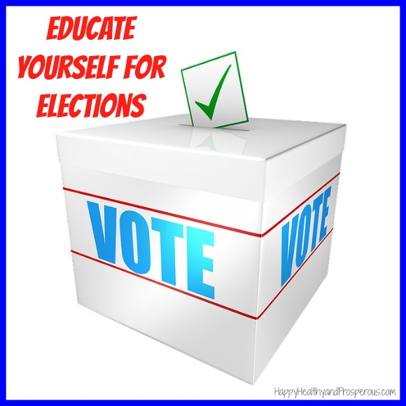 Educate Yourself For Elections