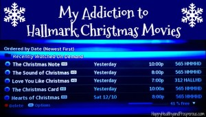 My addiction to Hallmark Christmas movies...