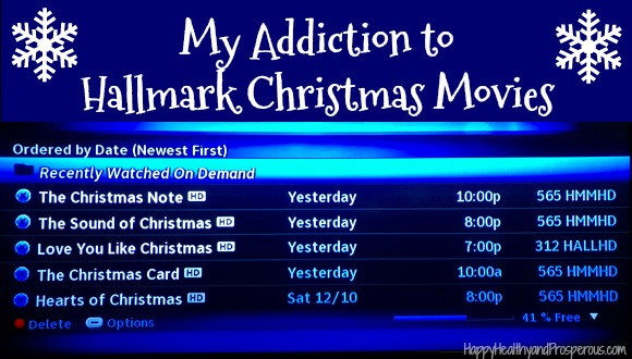 My addiction to Hallmark Christmas movies...