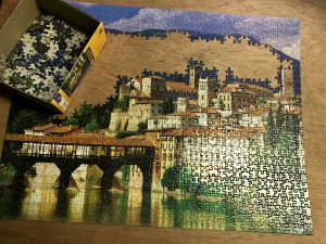 Unfinished puzzle...kinda like the puzzle of life