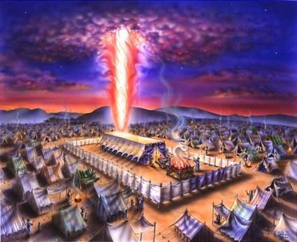 The Tabernacle with the Shekhina