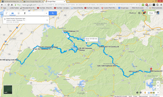 Ride Report Spring Friday Benton TN To Lake Toxaway NC - Us 129 map