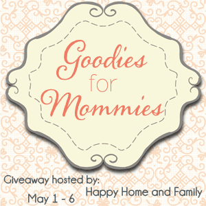 Goodies for Mommies Giveaway OPEN WORLDWIDE