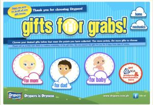 Grab Your Gifts Now at Drypers.com.ph!